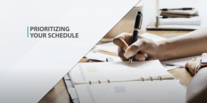 Prioritizing Your Schedule